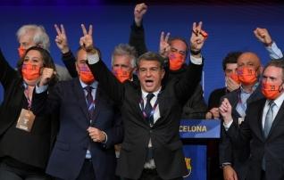 Laporta valiti oodatult Barcelona presidendiks. Kas tal õnnestub veenda Messit jätkama?