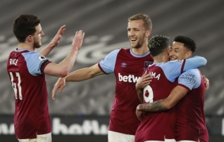 West Ham võitis ja jätkab jahti Londoni meistritiitlile