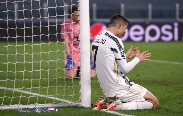 Cristiano Ronaldo ahastus eilses mängus FC Portoga. Foto: Scannpix / zumapress.com / Jonathan Moscrop