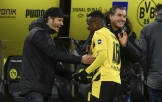 Imelapse üleminutite tabamus kindlustas Dortmundile võidu Hertha üle