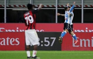 Tiitlimäng lõppenud? Milan kaotas ja Inter purjetab kaugel ees