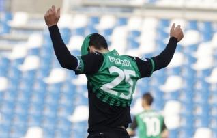 Berardi säras esimesel poolajal, aga kangelaseks kerkis Zaza, kes kukutas Cagliari ohutsooni