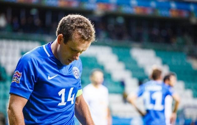 Eesti koondislased jäävad ilma kodumängust, alustades uut MM-valiktsüklit Poolas. Foto: Oliver Tsupsman