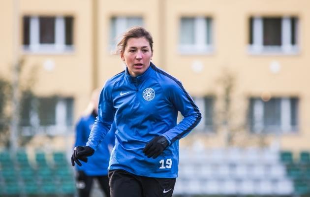Vlada Kubassova. Foto: Jana Pipar / jalgpall.ee
