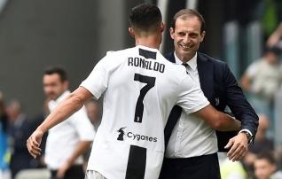 Allegri astus Ronaldo kaitseks välja: ta on ka inimene ja võib teha vigu