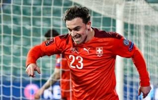 Vägev algus valiksarjale: Šveits lõi esimese veerandtunniga kolm väravat  (Taani korjas samuti kolm punkti)