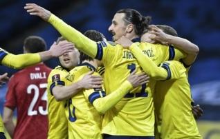 Zlatan andis  comeback 'il kohe väravasöödu, Hispaania ja Poola kaotasid punkte  (Eesti jäi suurima kaotuse tiitlist ilma)