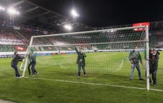 Piltuudis: Šveits - Leedu mängu algus viibis kurioossel põhjusel
