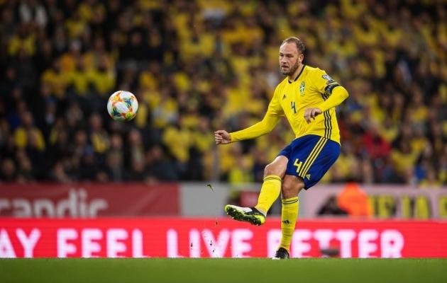 Kõike näinud, kõike teinud: Andreas Granqvistiga arvestatakse Rootsi koondises isegi siis, kui vigastus ei lase tal mängida. Foto: Scanpix / Imago images / Bildbyran / Joel Marklund