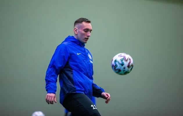 Vladislav Kreida ootab põnevusega esimest liigahooaega välisklubis. Foto: Jana Pipar / jalgpall.ee