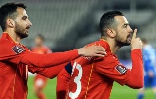Põhja-Makedoonia saatis väravat kohatult tähistanud kapteni koondise juurest minema