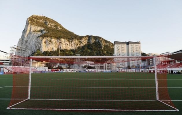 Victoria staadion Gibraltaril, kus kaljuriigi koondis oma kodumänge peab. Foto: Scanpix / Reuters / Jon Nazca