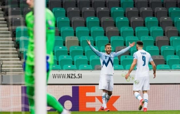 Sloveenia alustas MM-valiksarja 1:0 võiduga eelmise MM-i finalisti Horvaatia üle. Foto: Scnapix / SIPA / Grega Valancic