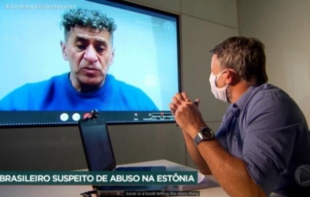 """Kuvatõmmis saate """"Domingo Espetacular"""" lõigust. Foto: ekraanitõmmis"""
