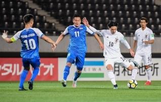 Väravaid nagu Vändrast saelaudu: Jaapan võttis Mongoolia üle hiiglasliku võidu