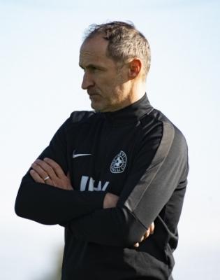 Eesti jalgpallikoondise peatreener Thomas Häberli. Foto: Liisi Troska / jalgpall.ee