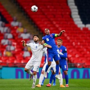 Inglismaa meeskond oli San Marinost pea jagu üle. Foto: Scanpix / zumapress.com / Will Palmer