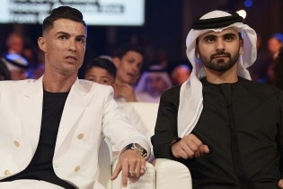 Araabia šeikidele meeldib, kui Cristiano Ronaldo neile külla tuleb. Foto: Scanpix / zumapress / Fabio Ferrari / Lapresse