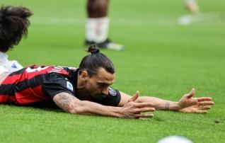 Puhkus Eesti vastu ei aidanud: Zlatan jäi nullile ja Milan kaotas punkte