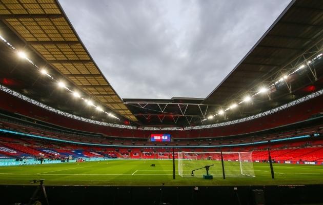 Wembley staadion on valmis turniiri lõppfaasi teenindama väga suures mahus. Foto: Scanpix / Wlosek / PressFocus / SIPA