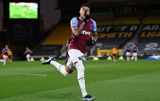 Jesse Lingard on West Hamis imelise hoo saavutanud. Foto: Scanpix / Laurence Griffiths / Pool via Reuters