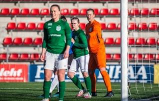 VAATA JÄRELE: Flora saavutas liigahooaja avamängus esimese poolaja väravate toel võidu