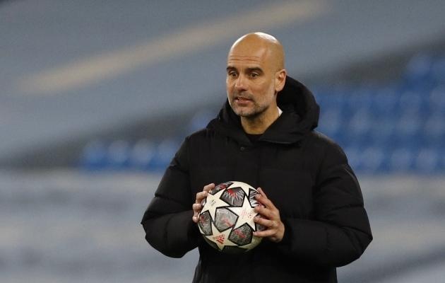 Manchester City peatreener Pep Guardiola. Foto: Scanpix / Phil Noble / Reuters