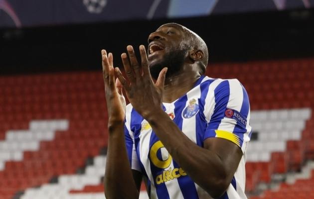 FC Porto ründaja Mousse Marega. Foto: Scanpix / Reuters / Marcelo Del Pozo