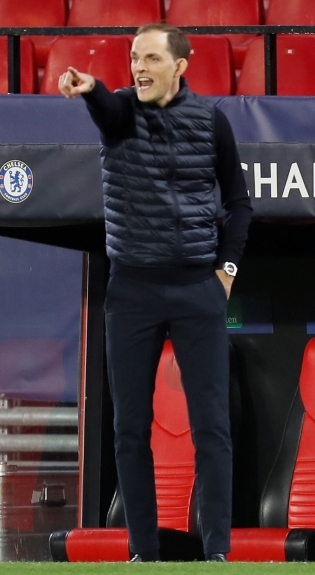 Londoni Chelsea peatreener Thomas Tuchel. Foto: Scanpix / EPA / Jose Manuel Vidal