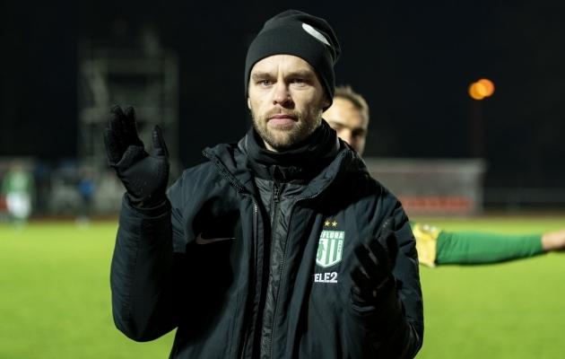 FC Flora peatreener Jürgen Henn. Foto: Liisi Troska / jalgpall.ee