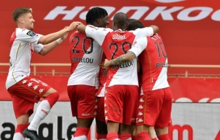 Monaco ja Lyon vajasid veerandfinaali pääsemiseks penaltiseeriat