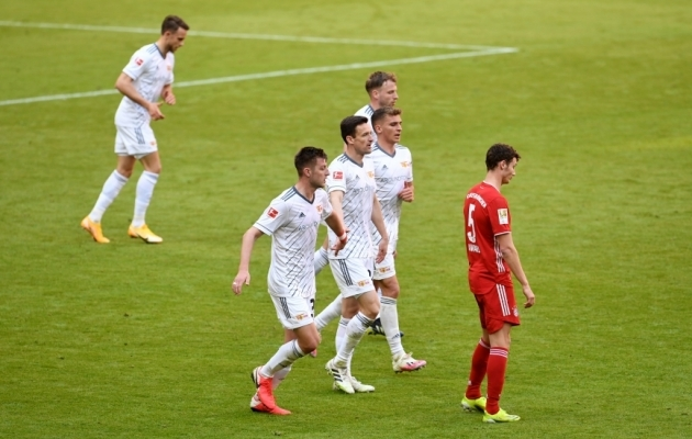 Bayerni jaoks pole midagi veel lõhki, kuid kui ennast kokku ei võeta, siis võib olukord kehvemaks minna. Foto: Scanpix / Andreas Gerbert / Pool via Reuters