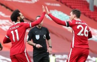 Anfield nägi 2021. aasta esimest liigavõitu: Liverpool lõpetas sümboolselt tosinatunnilise seeria