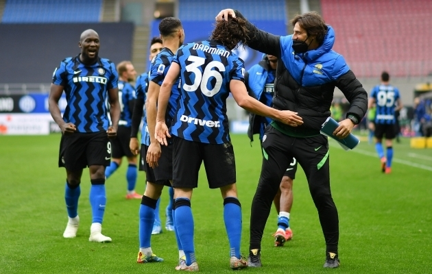Interi võiduvärava lõi Matteo Darmian. Foto: Scanpix / Daniele Mascolo / Reuters