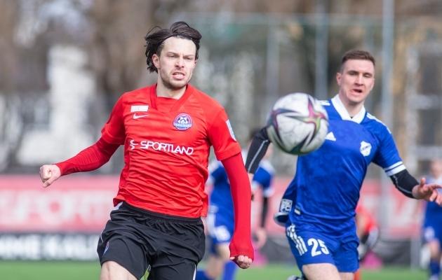 Kui Aleksandr Zakarljuka on hoos, on hoos ka Trans. Foto: Jana Pipar / jalgpall.ee