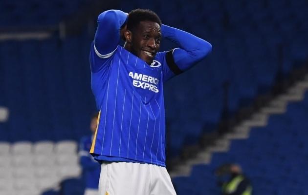 Brightoni mängijad tegid Evertonile 23 pealelööki, kuid mitte kui ükski ei jõudnud võrku. Foto: Scanpix / Glyn Kirk / Pool