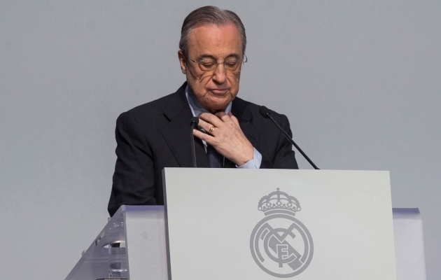 Real Madridi president Florentino Perez. Foto: Scanpix / Rodrigo Jimenez / EPA
