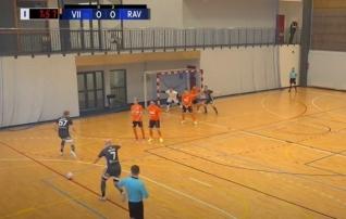 Tipphetked: Ravensi mängija lõi reeglitevastase värava, misjärel sai keskväljal tehtud vea eest punase kaardi