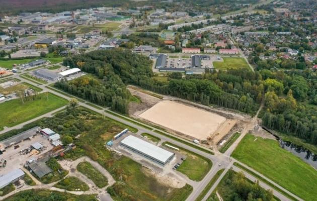 Tulevane Loode-Pärnu Jalgpallikeskus. Foto: Mailiis Ollino / Pärnu JK Vaprus / Facebook