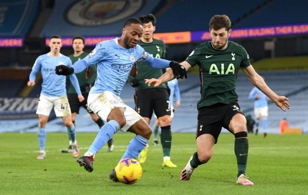 Manchester City ja Tottenham Hotspur. Foto: Scanpix / Shaun Botterill / PA