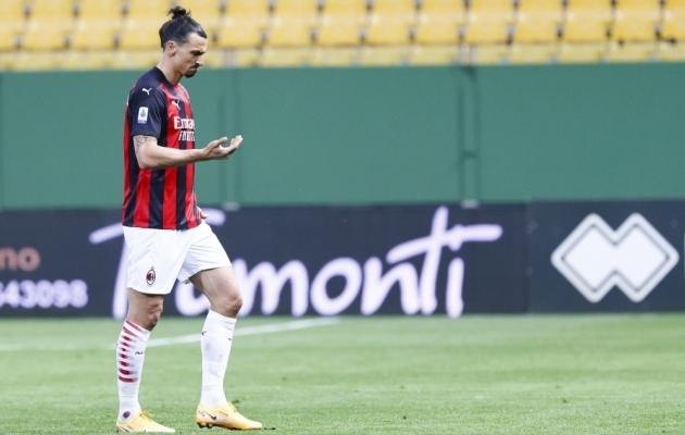 Zlatan Ibrahimovic. Foto: Scanpix / Elisabetta Baracchi / EPA