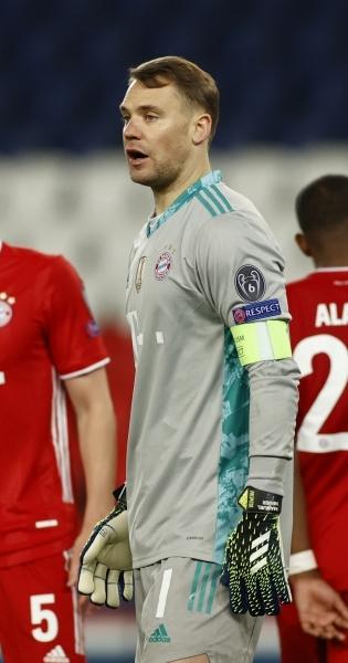Müncheni Bayerni kapten Manuel Neuer. Foto: Scanpix / Reuters / Christian Hartmann