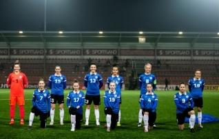 Eesti naiste A-koondis loobus koduse meistriliiga huvides aprillikuu kogunemisest