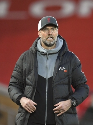 Liverpooli peatreener Jürgen Klopp. Foto: Scanpix / EPA / Peter Powell