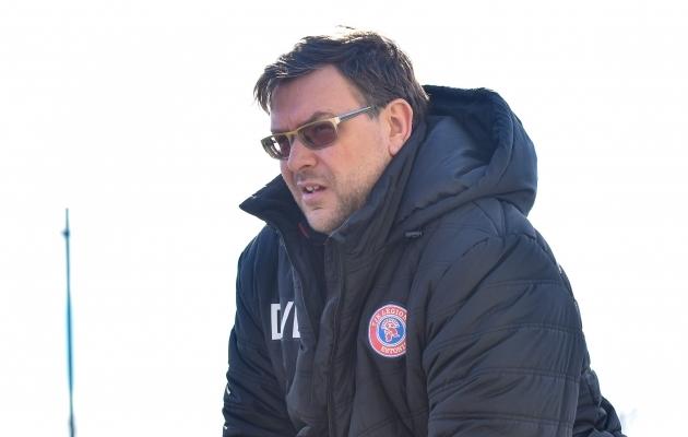 Tallinna JK Legioni peatreener Deniss Belov. Foto: Liisi Troska / jalgpall.ee