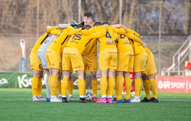 FC Kuressaare punktiarve on viie vooruga avamata. Foto: Jana Pipar / jalgpall.ee