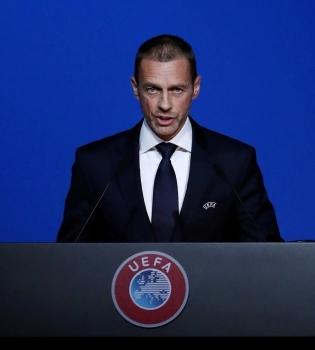 UEFA president Aleksandr Ceferin. Foto: Yves Herman