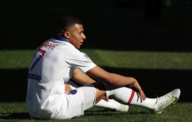 PSG staarründaja Kylian Mbappe. Foto: Scanpix / Pascal Rossignol / Reuters