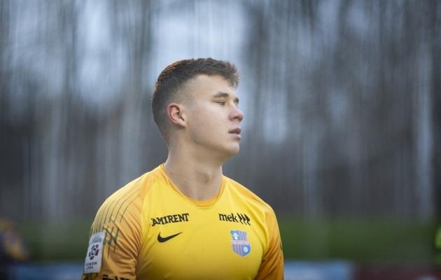 Mattias Sapp. Foto: Liisi Troska / jalgpall.ee
