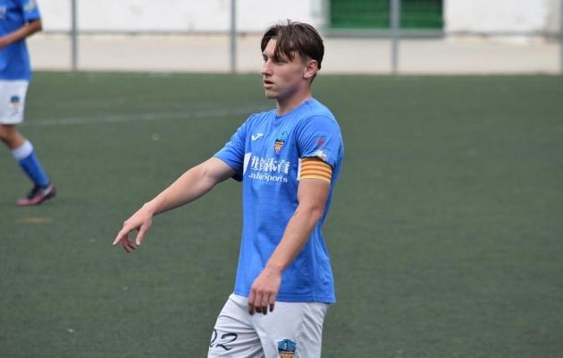 Deivid Andreas Lleida Esportiu särgis. Foto: erakogu